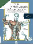 Guía De Los Movimientos De Musculación - F Delavier