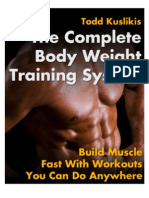 SOA's the Compete Body Weight Training System