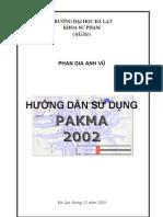 Huong Dan Su Dung PAKMA