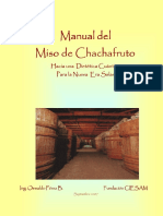 Manual Del Miso de Chachafruto ( Erythrina edulis)
