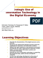 Strategic use of Information Technology