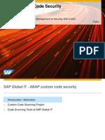 ABAP Custom Code Security 2012