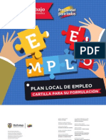 Cartilla Plan Local Empleo
