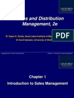412 33 Powerpoint Slides 1 Introduction Sales Management Chap 1