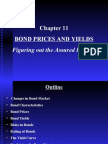 Chapter 11 Bond Prices and Yields
