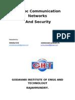 Adhoc Network Security