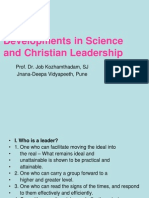Science & Christian Leadership