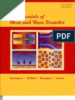 Fundamentals of Heat and Mass Transfer - 6th Edition Incropera