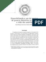 Texto 1 - Disponibilização e uso de serviços de governo eletrônico no Brasil - a visão dos usuários - SANTOS e REINHARD