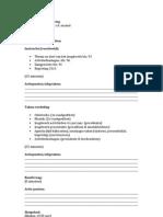 VOORBEELD - Agenda voor de Vergaderingen