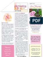 Rose of Light Healing Newsletter March 2013