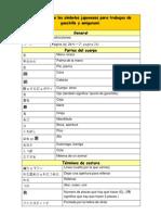 Traduccion Amigurumi Japones Espanol