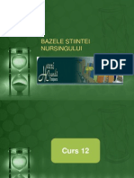 12. BAZELE STIINTEI NURSINGULUI