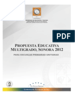 Pem Unitarias Sonora 2012