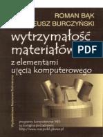 32614340-Wytrzymałość-materiałow-z-elementami-ujęcia-komputerowego-Bąk-Burczyński