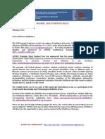 EXHibits Invitation Letter ACURIL 2013