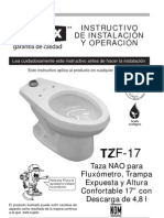 TZF-17 Instructivo Sanitario Helvex