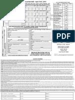 MSC2013 Entry Form