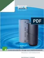 Combination-Buffer Storage Tank KSE