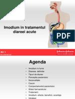 Imodium, Dr. Razvan Bosinceanu