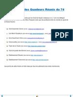La charte des Quadeurs réunis du 74_Jan2013