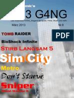 TH3 G4NG - März 2013 - Nr.8