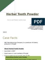 Herbal Tooth Powder_Group6