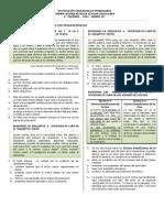 10° EXAMEN ACUMULATIVO 4°  PERIODO 2012---- 61 PAQUETES