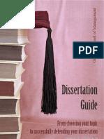 12 GSM Dissertation Guide