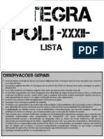 Lista IntegraPoli 2013