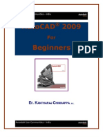 AutoCAD2009 for Beginners BY King Kantha
