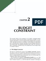 2 Budget Constraint
