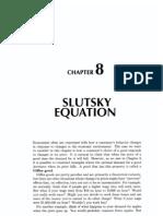 8 Slutsky Equation