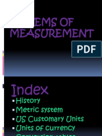 Systems of Measurement Technology
