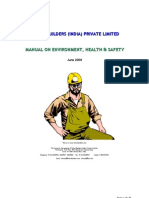Manual of Environment Health & Safety