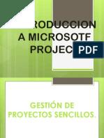 1. Introducción a Microsoft Project
