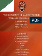 Presentacion de Procesamiento de Informacion Ultima