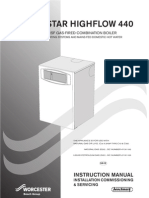 Installation and Servicing Instructions for Greenstar Highflow 440
