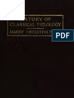 History of Classical Philology