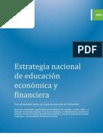Estrategia Nacional de Educación Financiera 2011