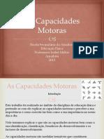 As Capacidades Motoras