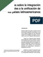 Frambes-Buxeda, Aline - Teorías sobre la integración aplicables a la unificación de los países la
