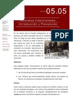 05-05 Incendios Intencionales - Introduccion y Prevencion