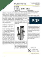 Wheatland Electrical Metallic Tubing Catalog