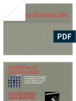 Top 10 Albums 1964-Baby Boomers