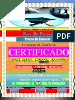 (Angie) Certificado de Formacion (2do Nivel)