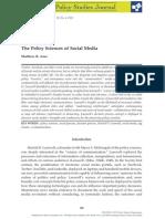 Auer PolicySciencesofSocialMedia