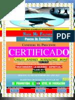 (Carlos a) Certificado de Promocion (2do Nivel)