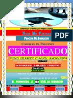 (Demis Elizabeth c)Certificado de Promomocion (2do Nivel)