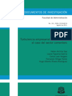Turbulencia Empresarial_Sector Cementero en Colombia